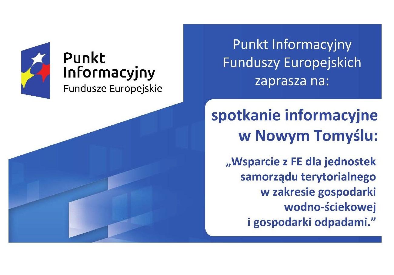 WSPARCIE Z FUNDUSZY EUROPEJSKICH